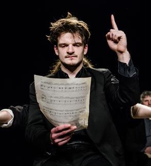 Valstybinis jaunimo teatras:  MIEGO BROLIS rež. Adomas Juška