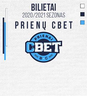 Prienų CBET LKL krepšinio rungtynės
