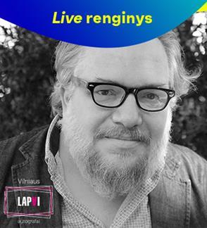 LIVE: Vilniaus lapai. Evening with Mathias Énard