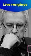 LIVE: Vilniaus lapai. Vakaras su Alvydu Šlepiku