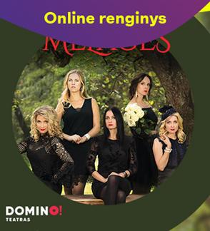 Online: DOMINO teatro spektaklis MELAGĖS