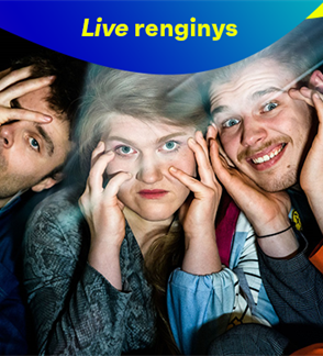 LIVE: Kauno miesto kamerinis teatras SUPERHEROJAI (rež. L. Vaskova)