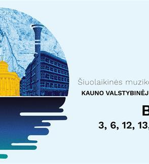 """Tarptautinis šiuolaikinės muzikos festivalis """"IŠ ARTI"""" 2021 KAMERINĖS MUZIKOS VAKARAS """"BIČIULYSTĖS"""""""