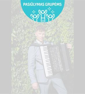 Pasiūlymai grupėms: XXVI Pažaislio muzikos festivalis MARTYNAS LEVICKIS: Solo