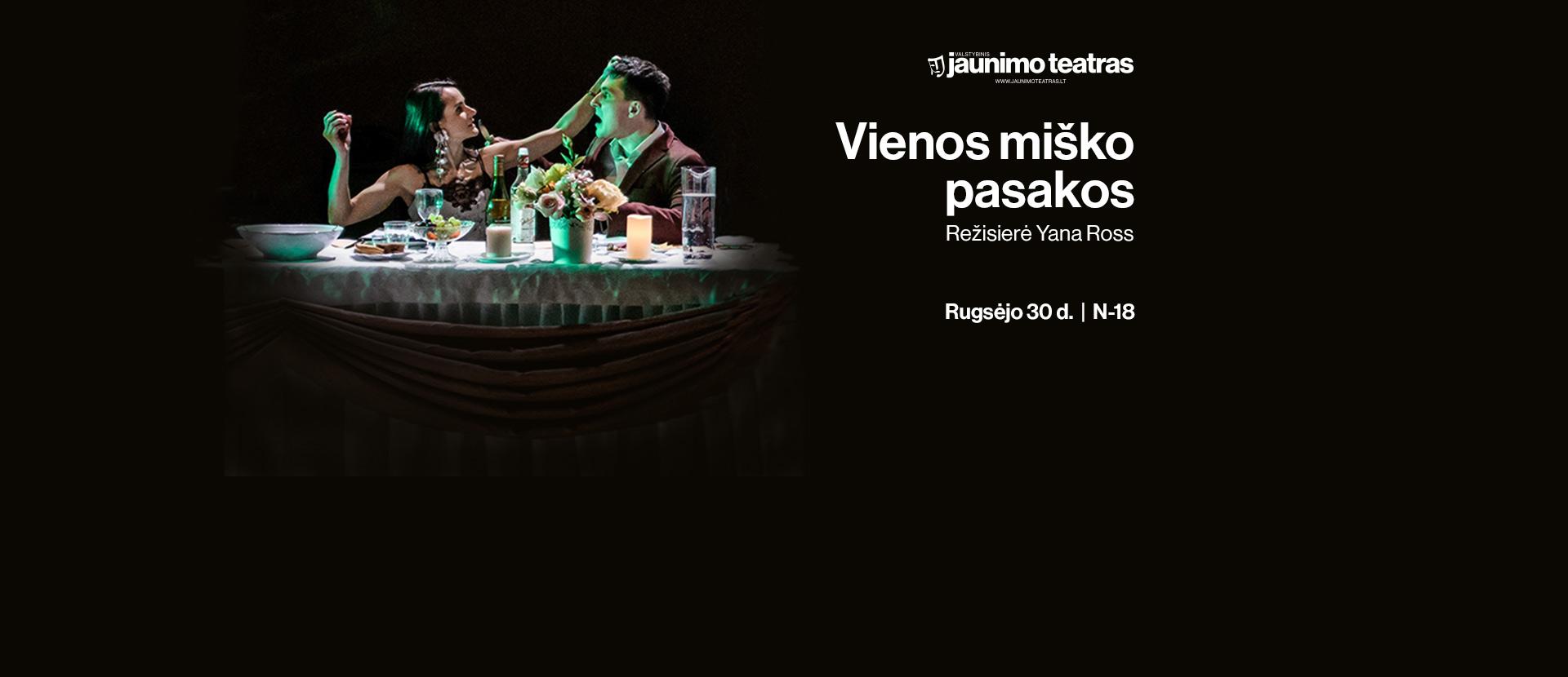 Jaunimo teatras: VIENOS MIŠKO PASAKOS. Rež. Y. Ross N18