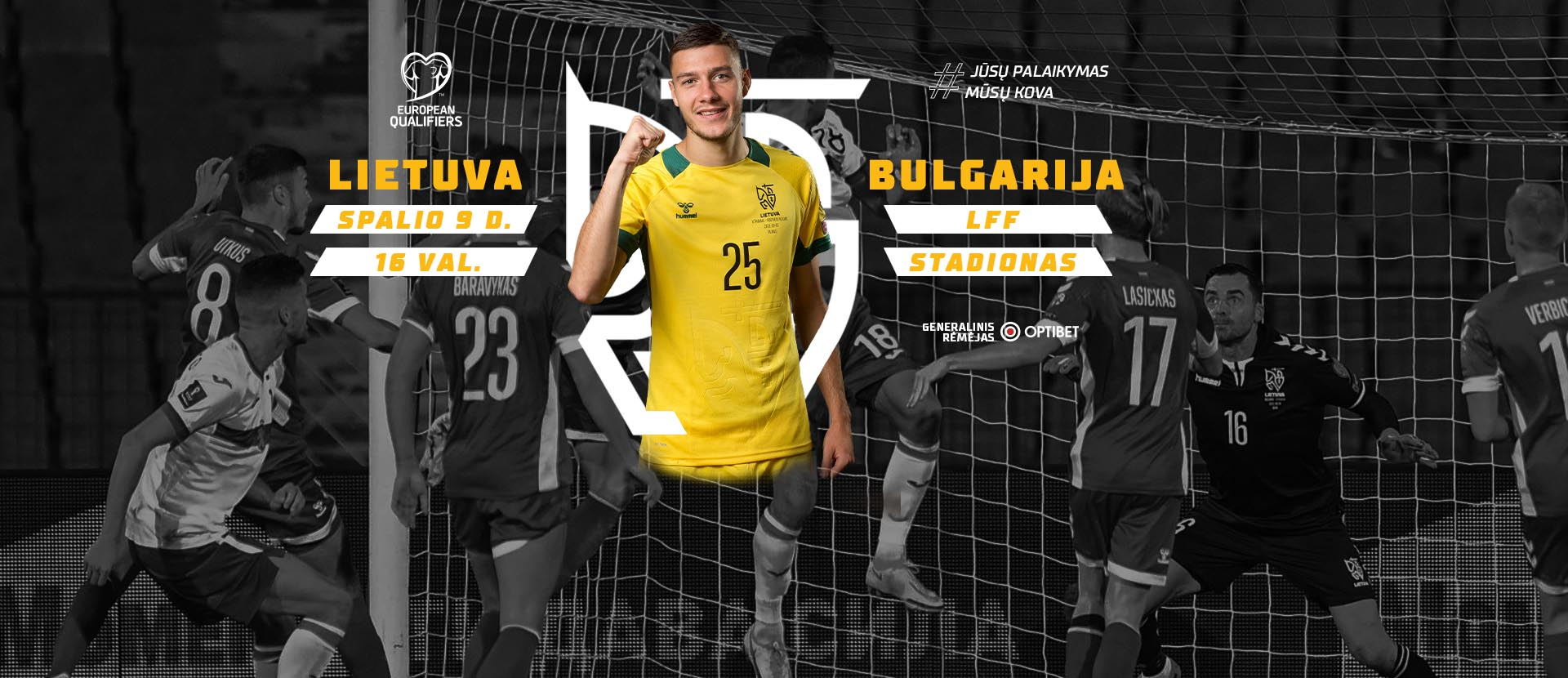 2022 m. FIFA Pasaulio vyrų futbolo čempionato atranka: LIETUVA – BULGARIJA